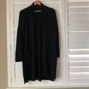 Eileen Fisher Size Medium Black Sweater